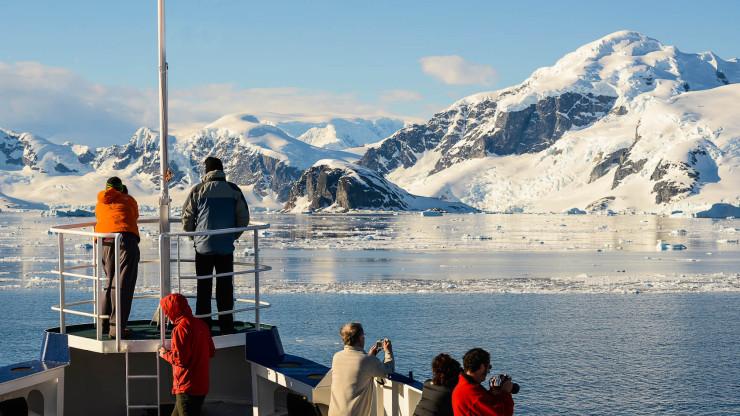 Antarktida průliv